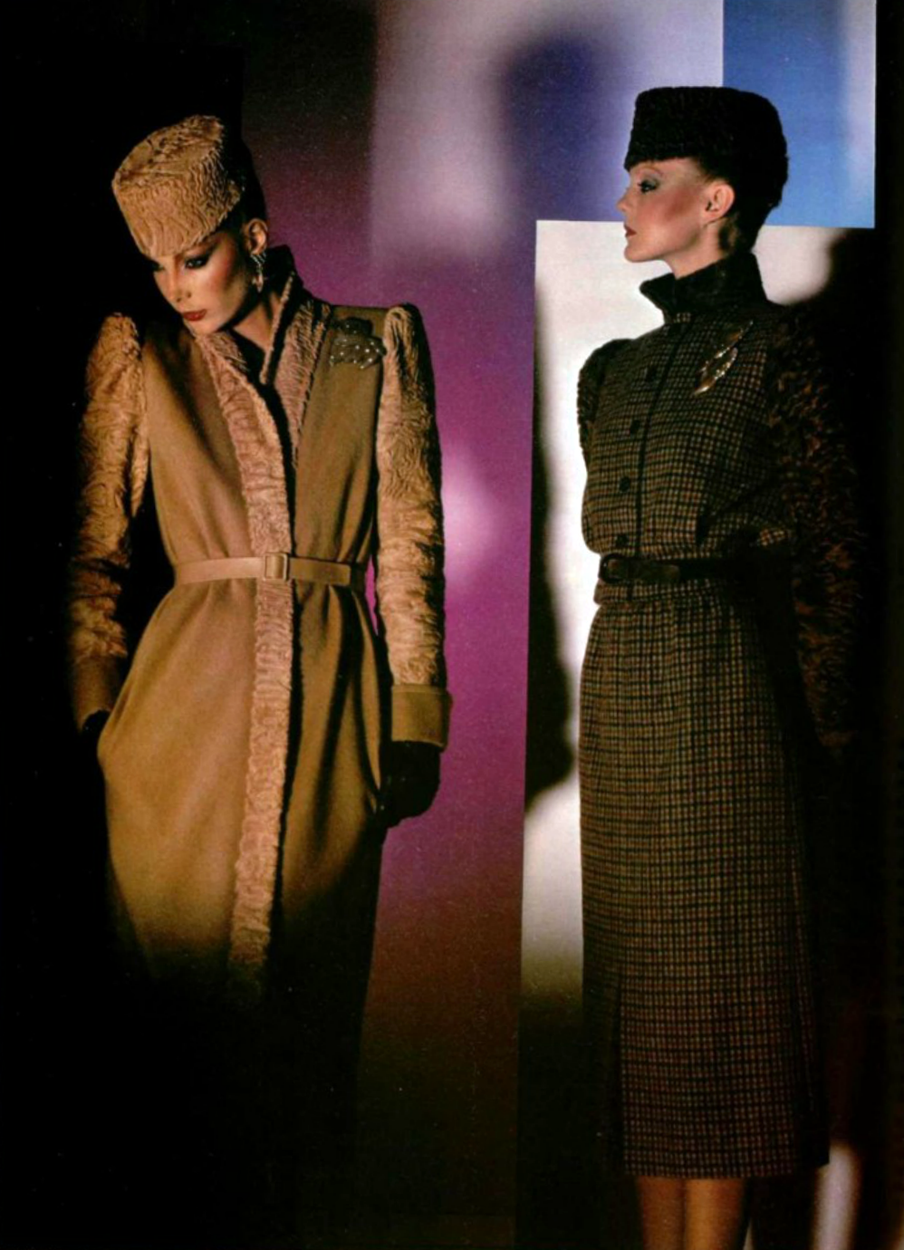 J.L. Scherrer. L'Officiel magazine 1979