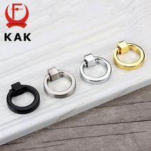 kak 43mm circle handles color gold silver black ring zinc alloy