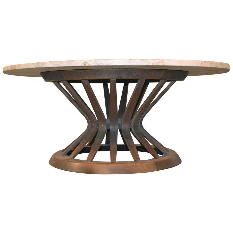 Sheaf of Wheat Coffee Table by Edward Wormley for Dunbar with Marble