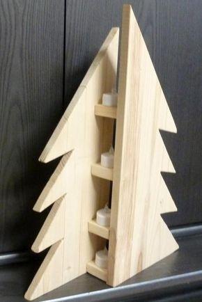 Led Weihnachten.Moderne Tanne Weihnachtstanne Aus Naturholz 18mm Fichtenleimholz