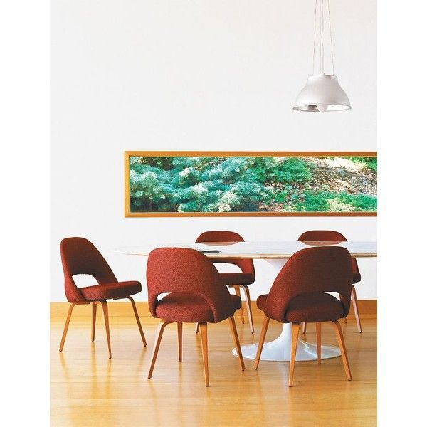Saarinen Executive Side Chair with Wood Legs Design Within Reach
