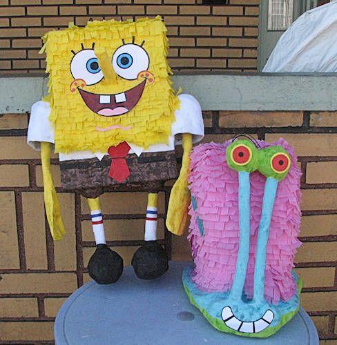 pinataspongebob | Funny funny in 2019 | Spongebob crafts
