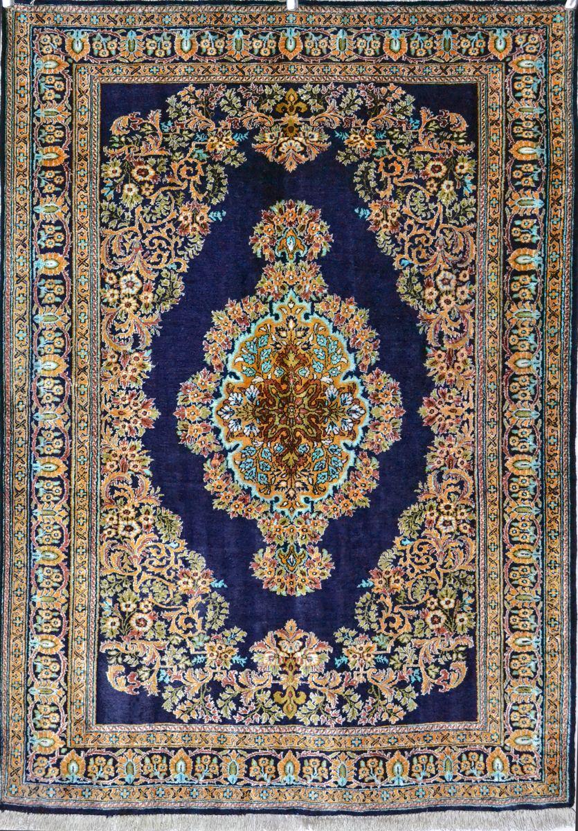 Qum Persian Carpet Silk Rug