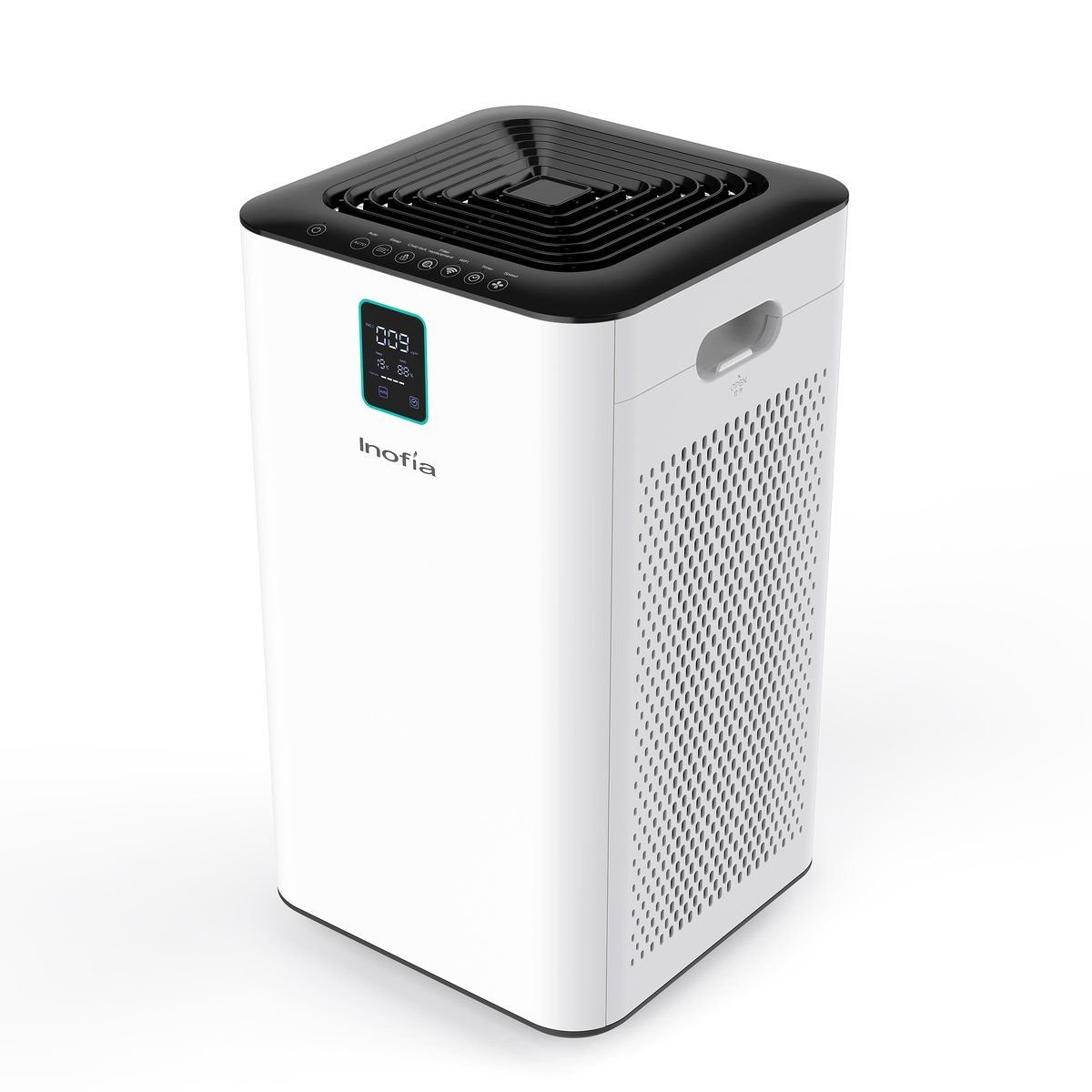 Inofia True Hepa Air Purifier With 2 Filters For Pet Dust Smoke Allergens Air Purifier Hepa Air Purifier Filter Air Purifier