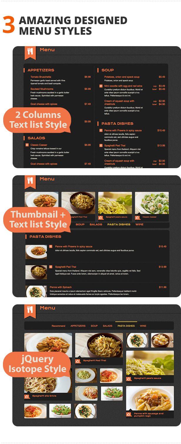 Dine drink restaurant wordpress theme crea