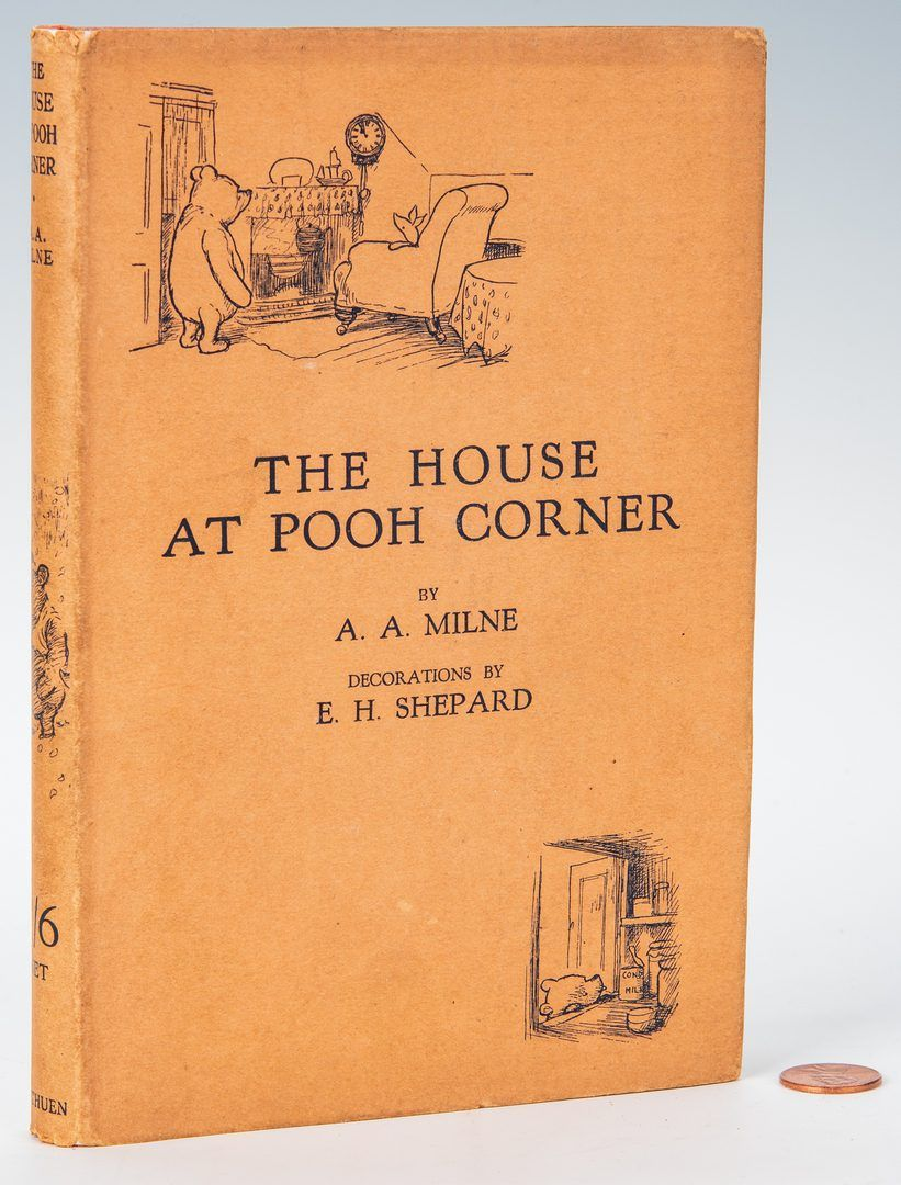 Lot 812 A A Milne The House At Pooh Corner 1st Ed House At