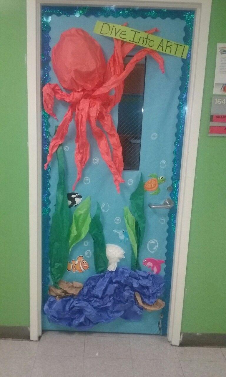 Under The Sea Classroom Door By Sharyn Jackson First