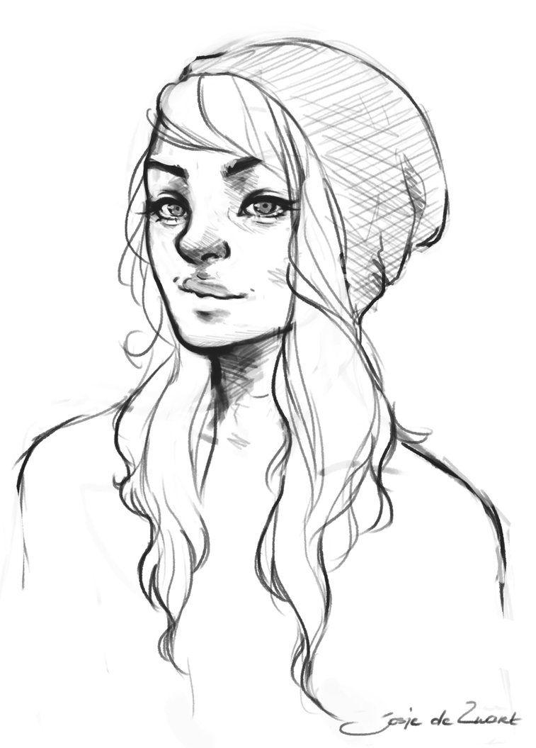 Beanie By JosjeZ | Realistic Drawings, Drawings, Face Drawing