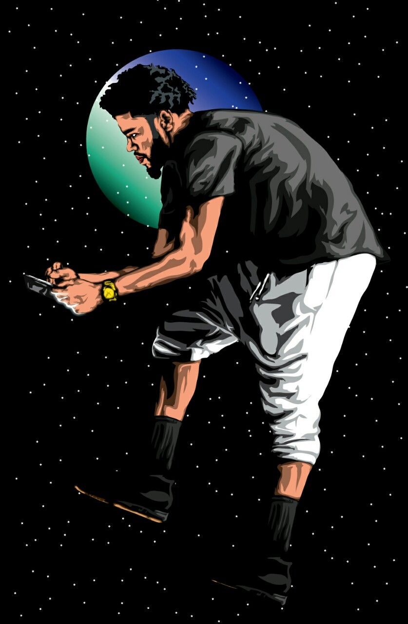 Pin By Assata Brown On J C O L E J Cole Dope Art Art
