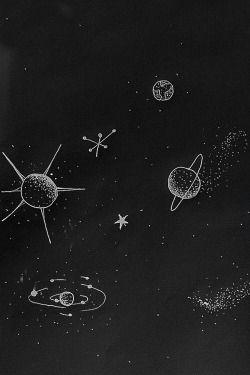 Celular Wallpaper Tumblr Solar System Iphone