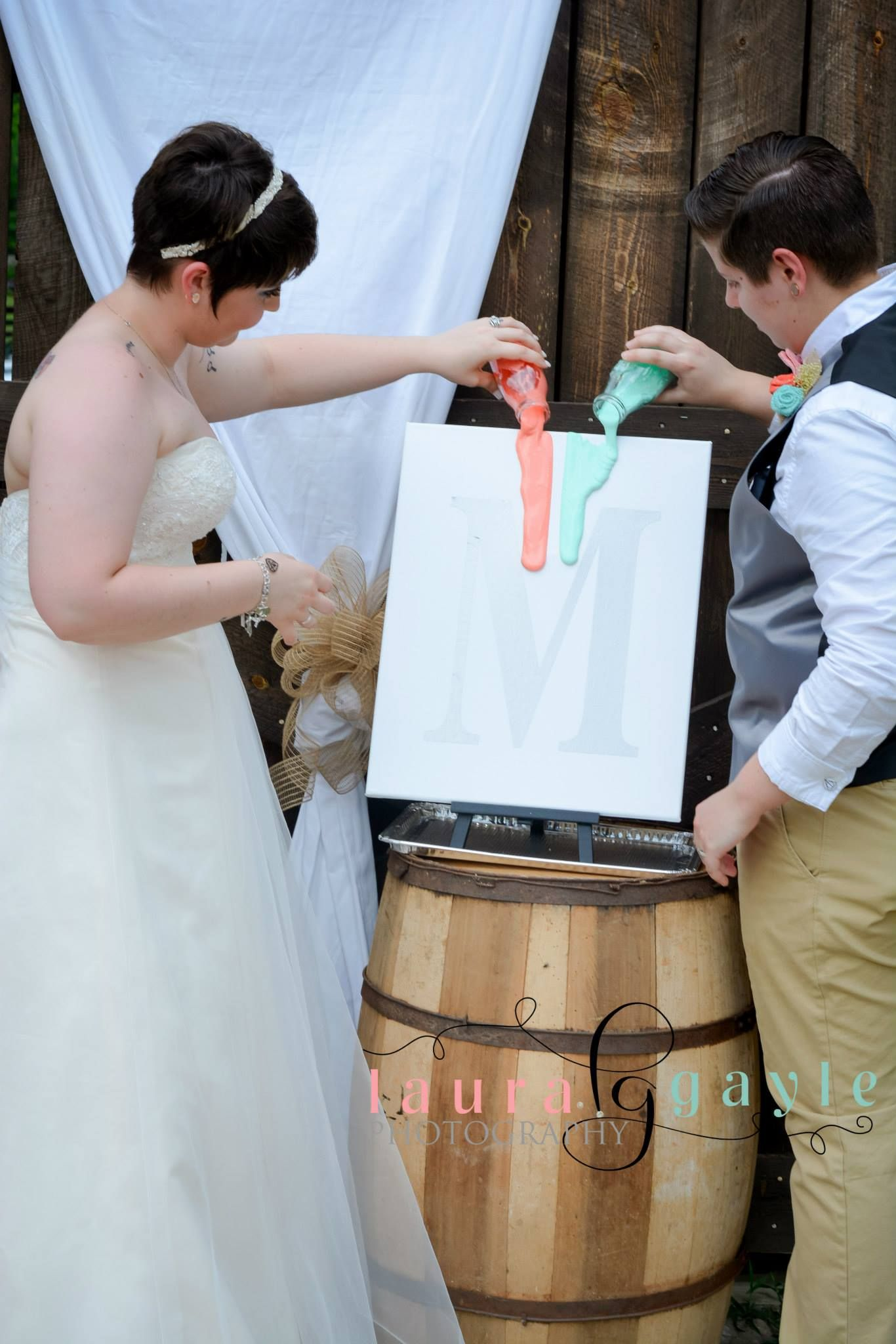 Unity Painting Allows The Couple To Make A Beautiful Piece