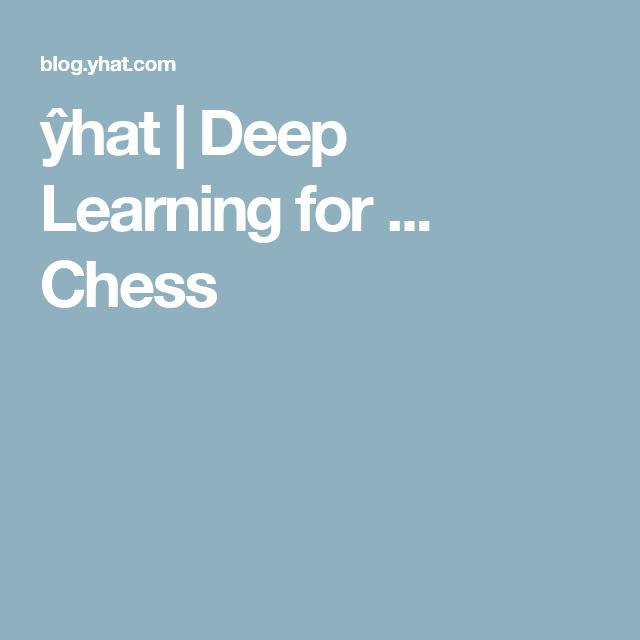 deep learninig and chess pdf