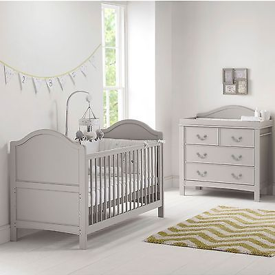 East coast nursery furniture cot bed dresser toulouse 2 piece