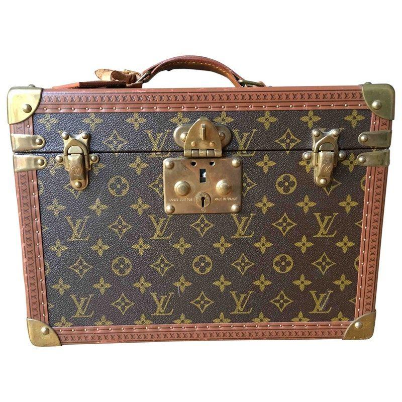 107509b366a8 brown Cloth LOUIS VUITTON Travel bag - Vestiaire Collective