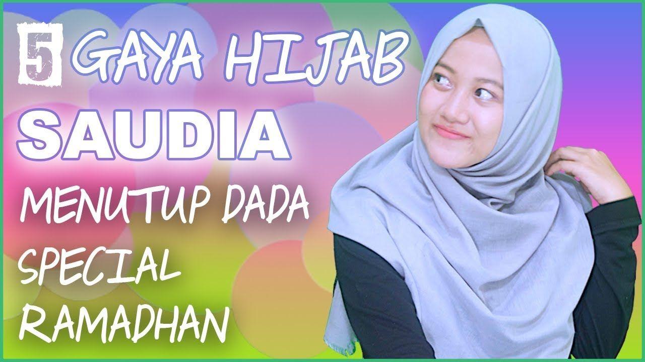 Tutorial Hijab Segiempat Rawis Menutup Dada Dada Hijab Gaya Hijab