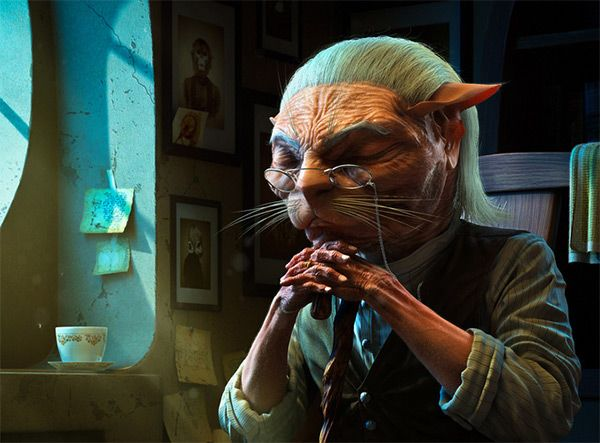 Catman, Xiaodong Li in 50+ Impressive 3D Characters