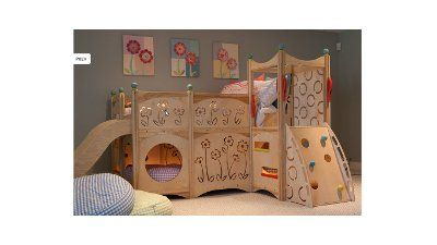 What Fun Especially For A Small Bedroom With Not A Lot Of Play Room