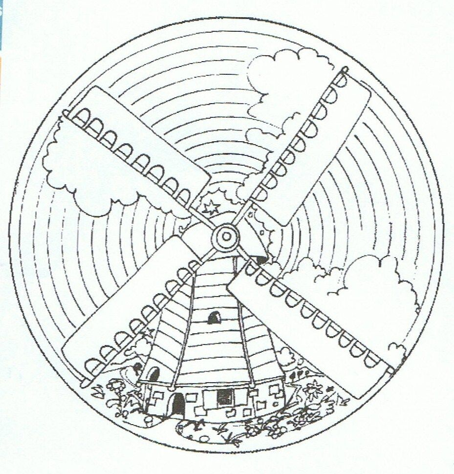 Pin Van Paulien Lemmen Op Thema Nederland Mandala Kleurplaten Mandala Nederland