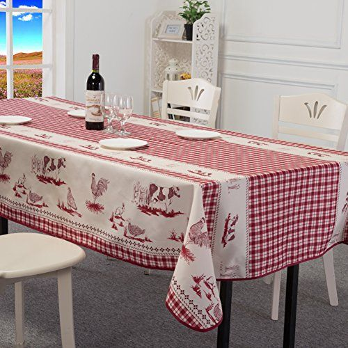 Home cloth Waterproof oil cloth fabric disposable tablecloths