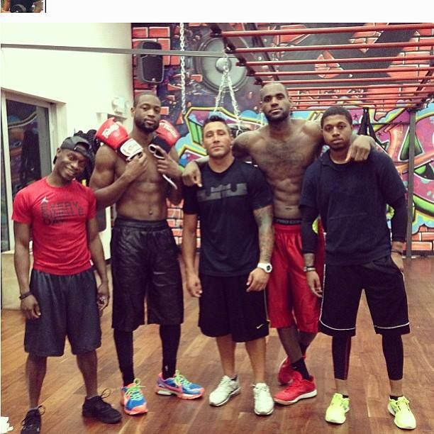 James Harden Mvp Speech: Team LeBron: Night Training Session With LeBron And Dwade