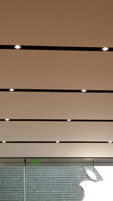 Apple Store ceiling detail Lighting and other rcp details hidden in