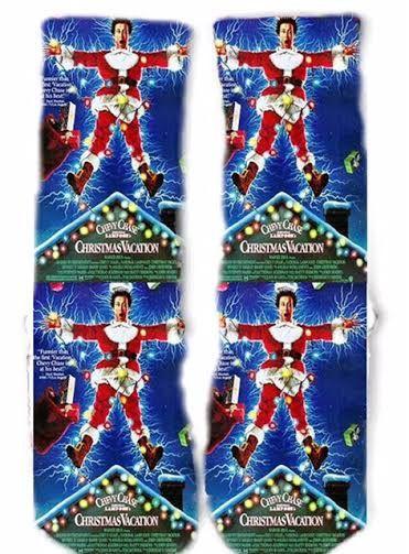 christmas vacation socks