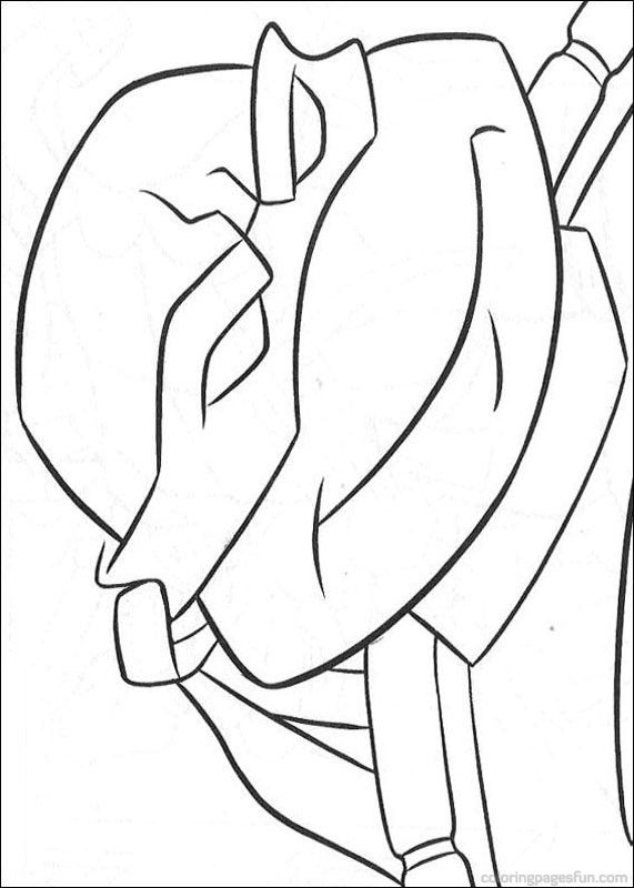 Teenage Mutant Ninja Turtles Coloring Pages 44
