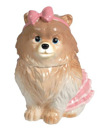 Chihuahua Cookie Jar Beauteous Another Great Find On #zulily Pomeranian Cookie Jar #zulilyfinds