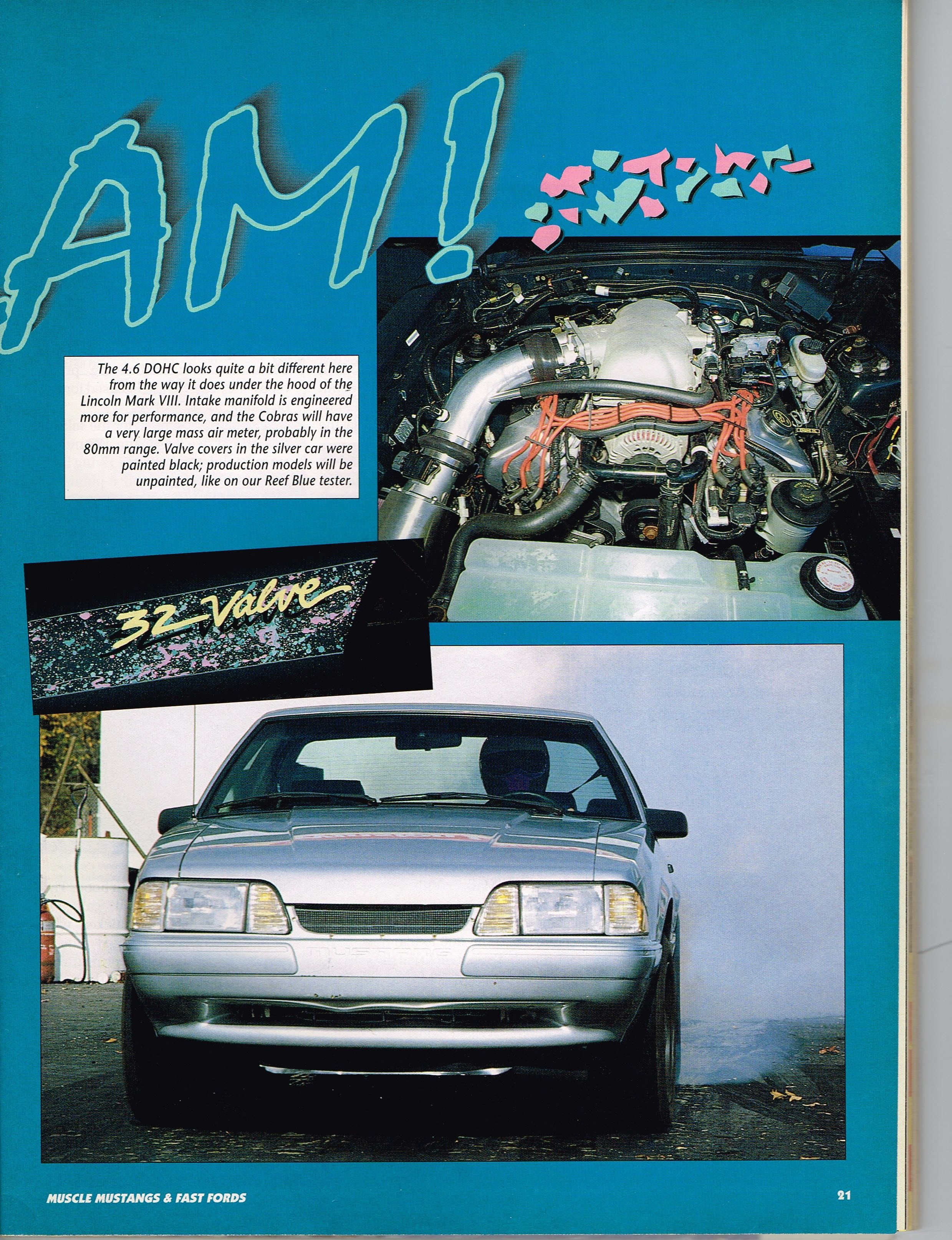 """Old Days of Racing Joe Amato first test """"96 Cobra Engine Mustang"""