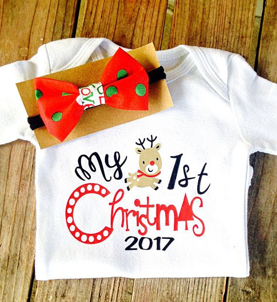 10 50 12 95 my first christmas onesie christmas onesie with headband