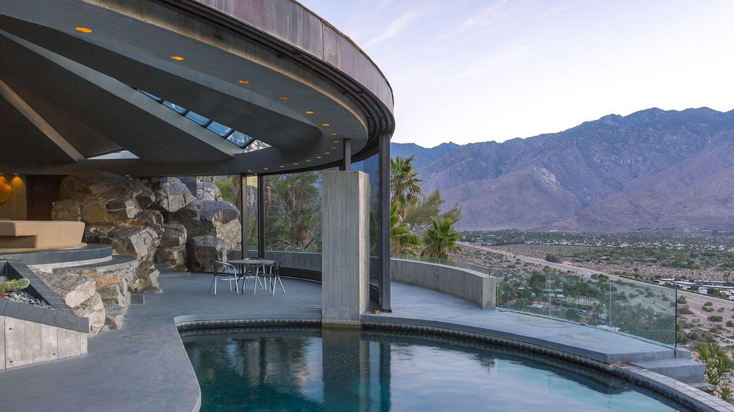 Image result for Elrod House by John Lautner