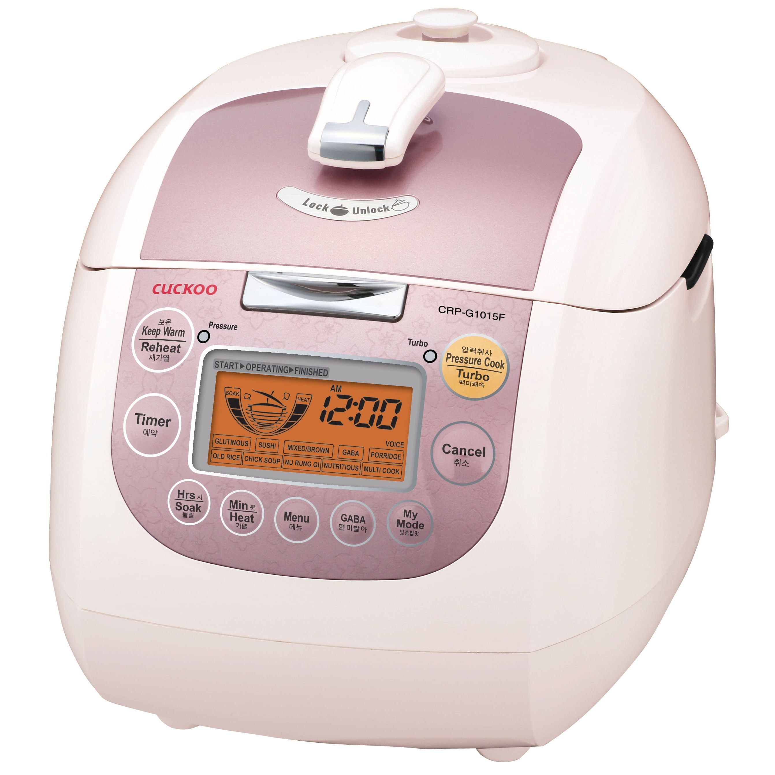 Cuckoo Crp G1015f 10 Cups Electric Pressure Rice Cooker