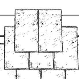 Headlap Slate Roof Slate Roofing