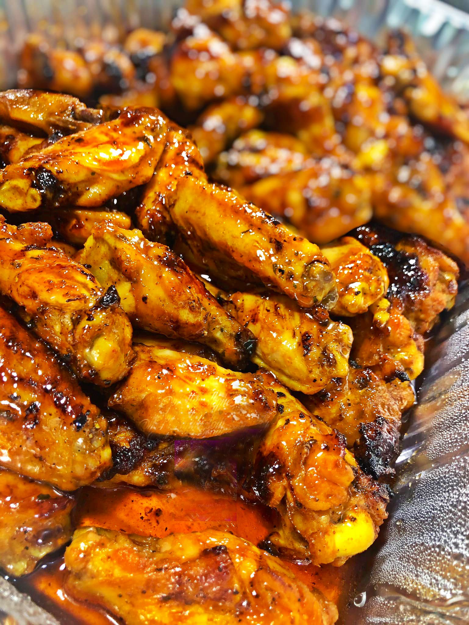 Savory Party Wings in 2020 Food, Turkey recipes, Party wings