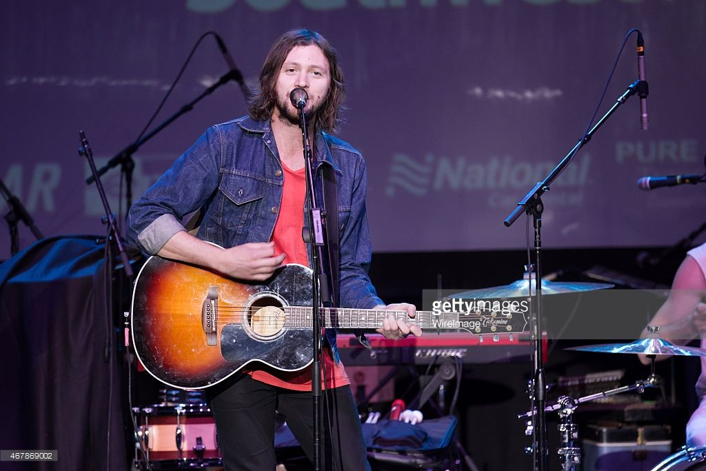 Joseph Keefe of Family of the Year performs at Uptown Theater at Live at the Vineyard festival on March 27, 2015 in Napa, California.