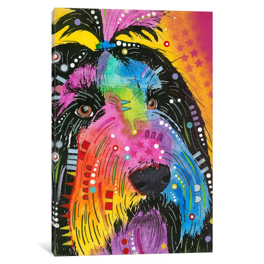 iCanvas Prissy by Dean Russo Graphic Art on Wrapped Canvas | AllModern