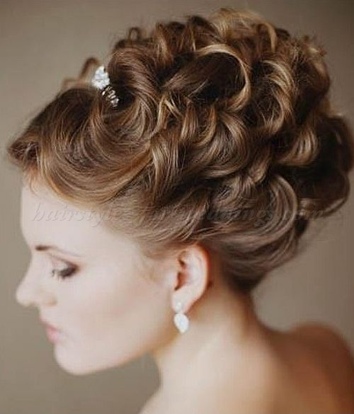 Marvelous Wedding Updo Google And Updo On Pinterest Hairstyles For Men Maxibearus