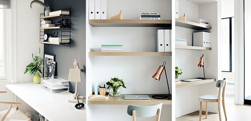 Claves para decorar tu zona de estudio ideas para for Decoracion de interiores zona sur