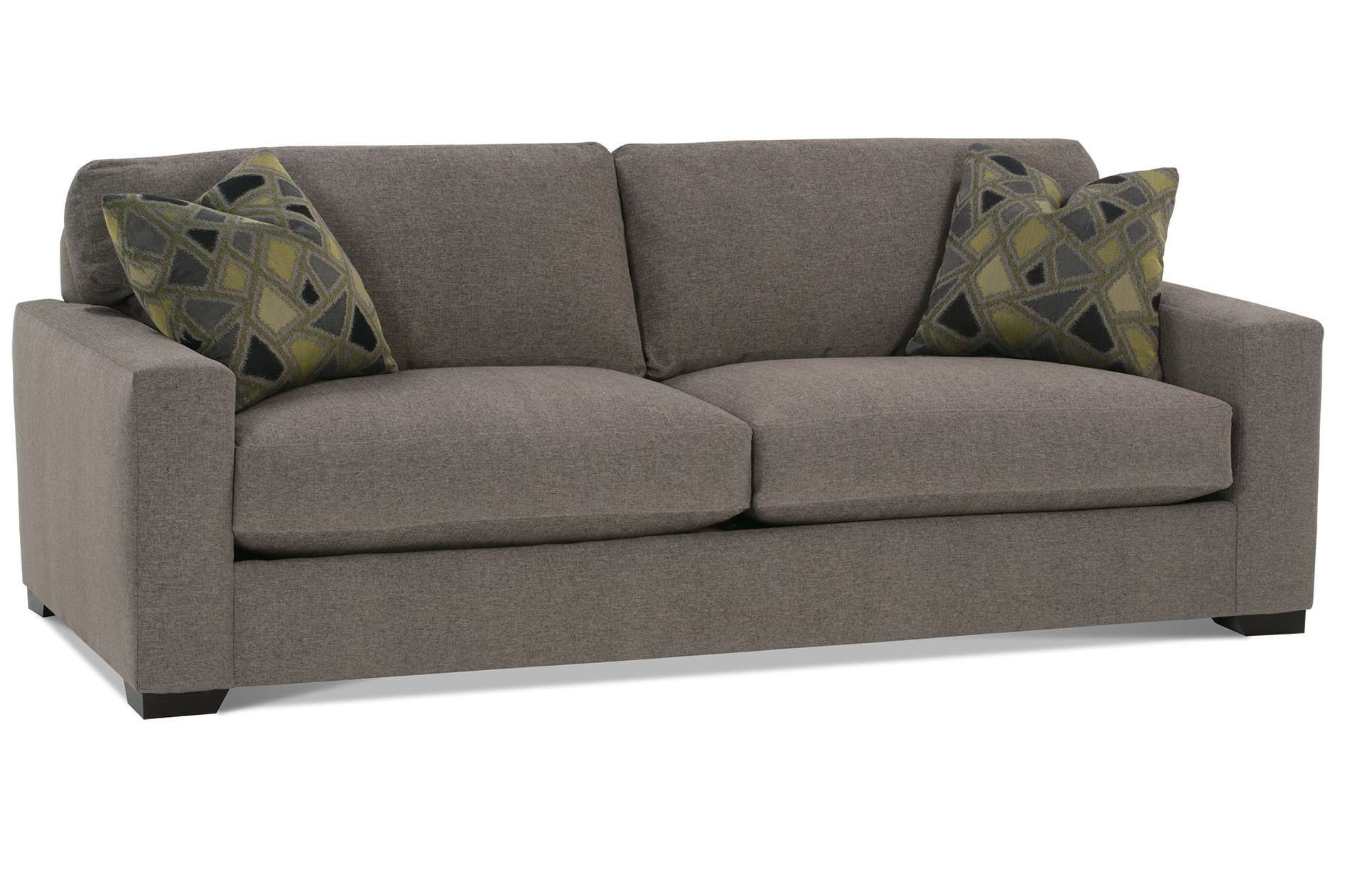 The Dakota 2 Cushion Sofa is a fortable modern design from Rowe