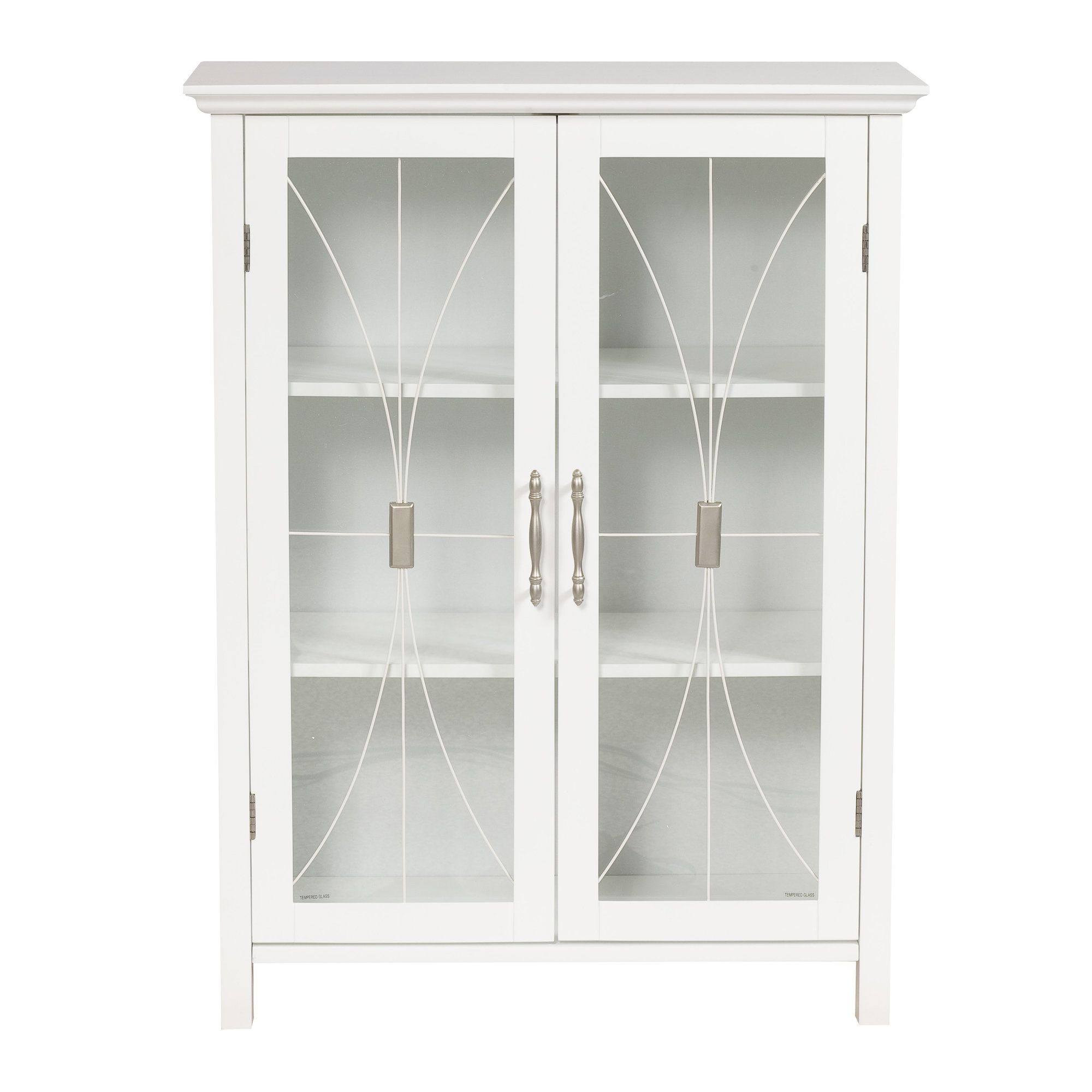 Romulus 15 W X 63 H Linen Tower White Storage Cabinets Bathroom Wall Cabinets Free Standing Cabinets