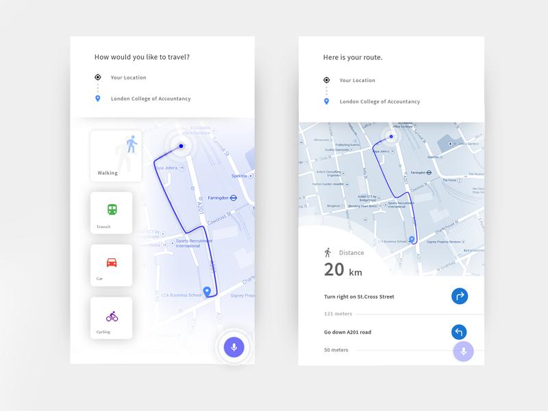 Robin Maps Robins, App and Ui ux