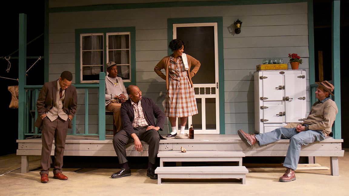 wilson s fences intense family drama at open stage wilson s fences intense family drama at open stage theburg