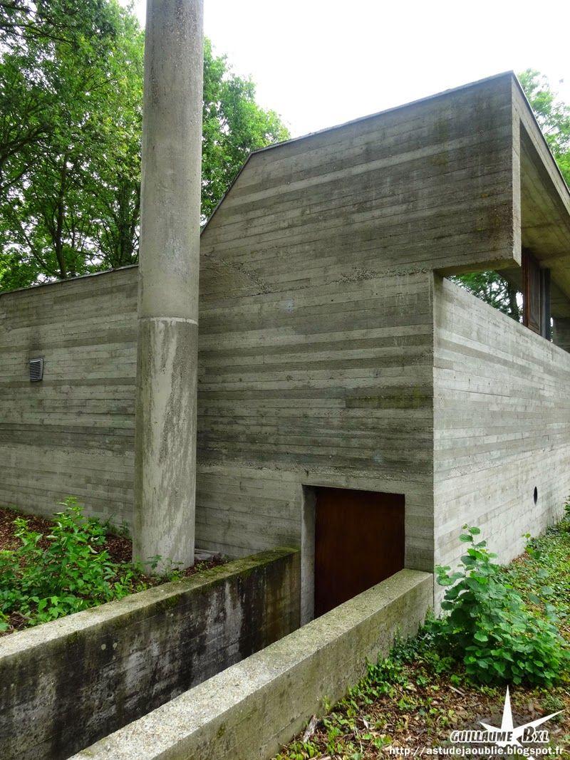 Belgique   Laethem Saint Martin (Sint Martens Latem)   Maison Van  Wassenhove Architecte: Juliaan Lampens Construction: 1973