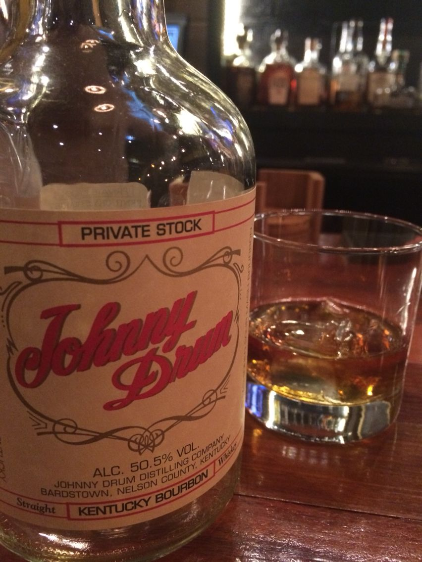 Johnny drum private stock 101 proof straight but no age