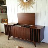 Vintage Stereo Console restoration  We also do repair services