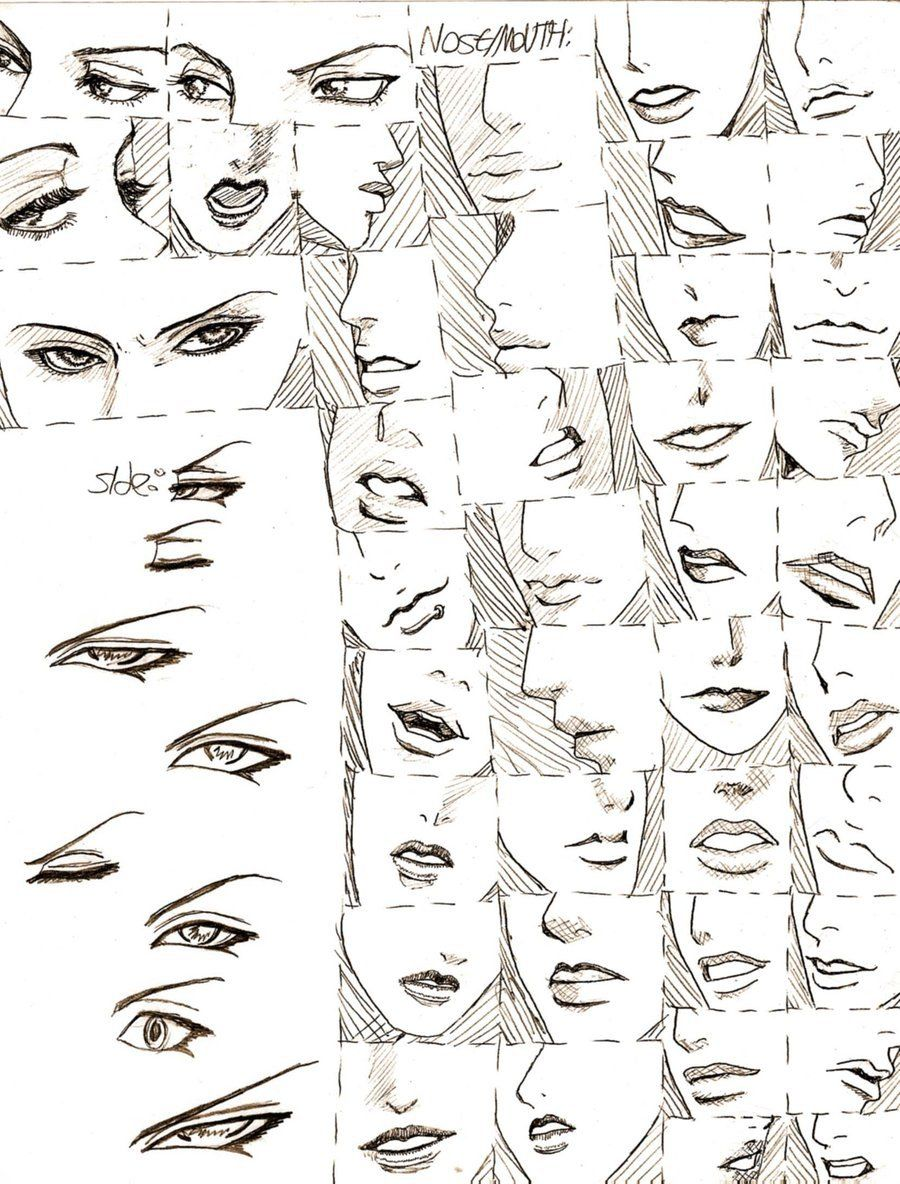 part of my 4 paged series on bishounen prettyboy face design this