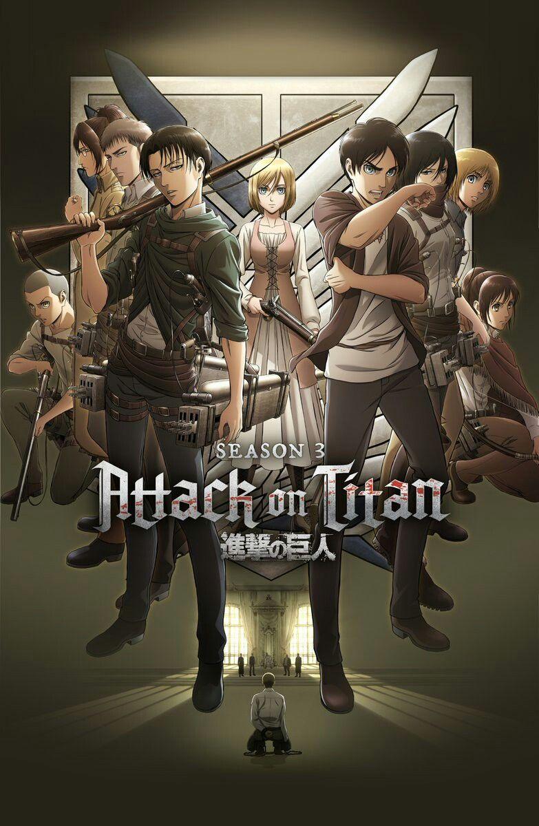 Attack Des Titans Saison 3 Streaming : attack, titans, saison, streaming, Attack, Titan, Season, Titans,, Attaque, Titans, Personnage
