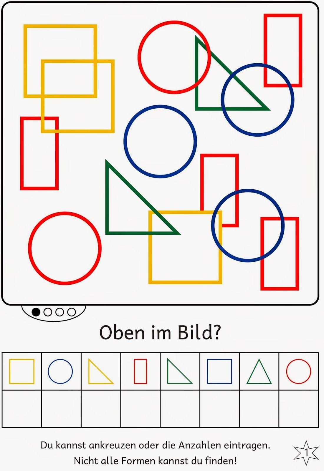 lernst bchen formen im bild finden geometri matem ticas preescolar fichas preescolar und. Black Bedroom Furniture Sets. Home Design Ideas