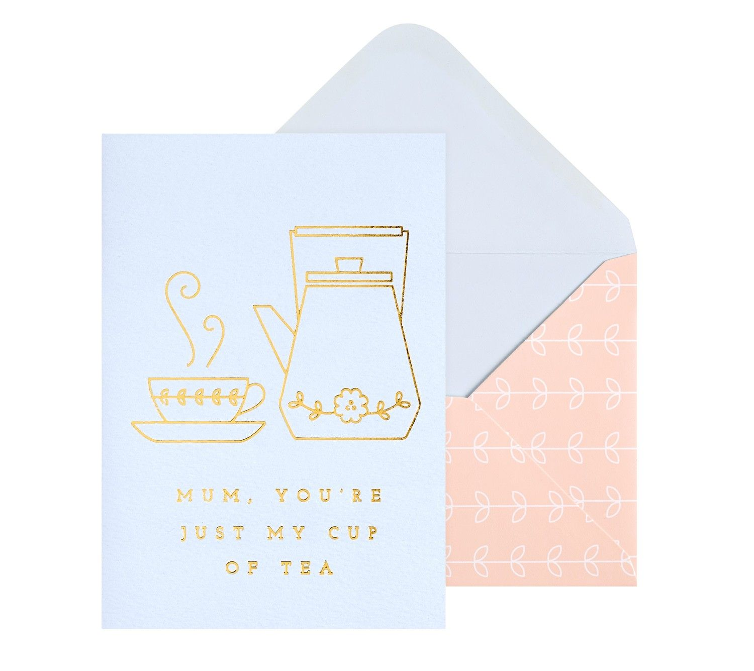 Let mum know sheus just your cup of tea with this cute and stylish