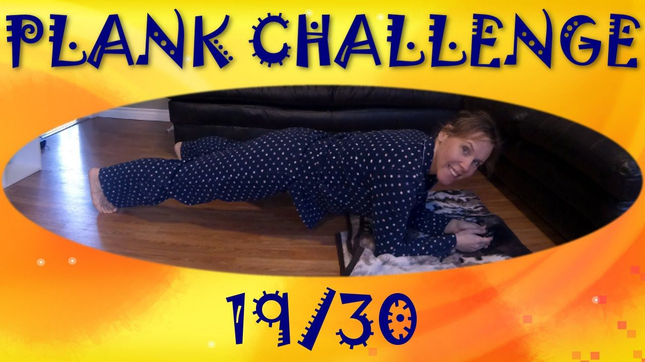 Day 19 of my #plankchallenge